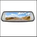 7.3 inch Full screen display Touch button rear view mirror with reverse camera