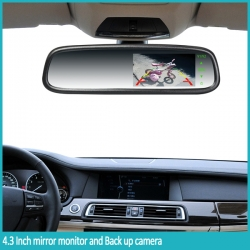 4.3Inch Rearview Mirror Monitor (without camera)