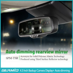 4.3 inch autodimming mirror monitor+Camera