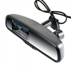 1080P DVR Rearview Mirror Monitor with Auto dimming function (without camera)