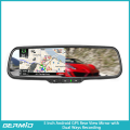 5inch Android GPS RearView Mirror with bluetooth and front recording 1080P DVR(with a universal rearview camera)