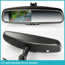 4.3 inch Rearview mirror monitor+Camera