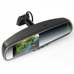OEM Car 4.3inch  GPS RearView Mirror monitor (with camera)