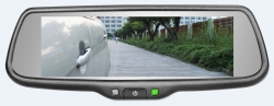 7.3 inch Full screen display rearview mirror  monitor with backup camera display